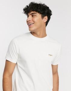 Белая футболка с логотипом Nudie Jeans Co Daniel-Белый