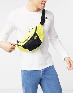 Желтая маленькая сумка-кошелек на пояс The North Face-Желтый