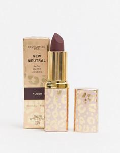 Матовая губная помада Revolution - Pro New Neutrals (Plush)-Розовый