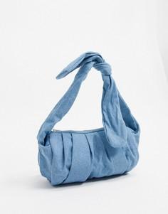 Джинсовая сумка Glamorous-Синий