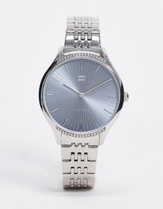 Серебристые наручные часы Tommy Hilfiger 1782210-Серебряный
