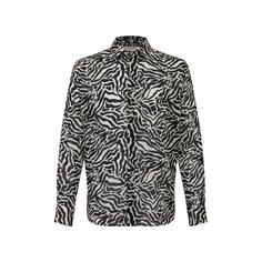Рубашки Saint Laurent Шерстяная рубашка Saint Laurent