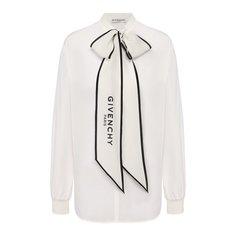 Блузы Givenchy Шелковая блузка Givenchy