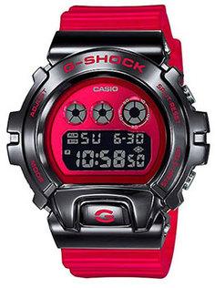Японские наручные мужские часы Casio GM-6900B-4ER. Коллекция G-Shock