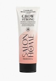 Кондиционер для волос Charles Worthington с протеинами для активации роста волос с защитой от ломкости, 250. мл