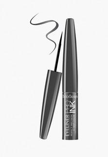 Подводка для глаз BelorDesign PRO INK, металлик, 3,5 г