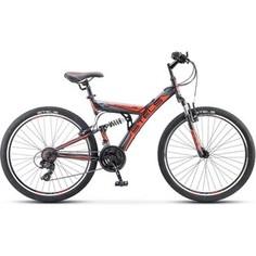 Велосипед Stels Focus V 26 18 sp V030 (2018) 18 Черный/красный