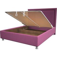 Кровать OrthoSleep Нью-Йорк pink механизм и ящик 80x200
