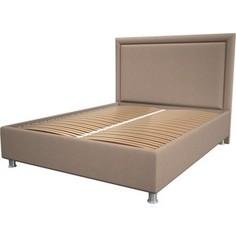 Кровать OrthoSleep Нью-Йорк cream ортопед. основание 80x200