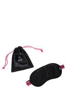 Маска для сна 10680-03585 black/neon pink herschel