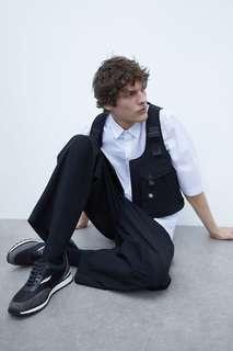 Кроссовки на объемной подошве в стиле ретро Zara