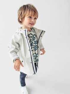 Дождевик из прорезиненной ткани Zara