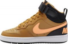 Кеды высокие для мальчиков Nike Court Borough Mid 2 (Gs), размер 35,5