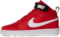 Кеды высокие для мальчиков Nike Court Borough Mid 2 (Gs), размер 37