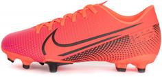 Бутсы для мальчиков Nike Jr Vapor 13 Academy Fg/Mg, размер 35,5