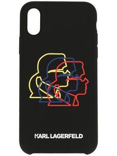 Karl Lagerfeld чехол Bauhaus Cameo для iPhone XS