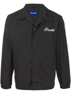 Etudes куртка-рубашка с логотипом