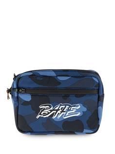 A BATHING APE® поясная сумка Color Camo Bape