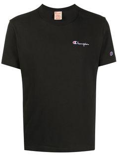 Champion футболка с круглым вырезом и вышитым логотипом