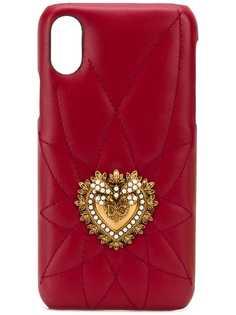 Dolce & Gabbana декорированный чехол для iPhone