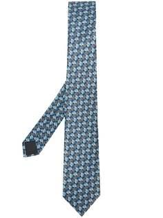 LANVIN галстук с принтом