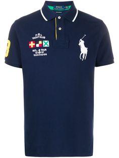 Polo Ralph Lauren рубашка-поло с нашивками