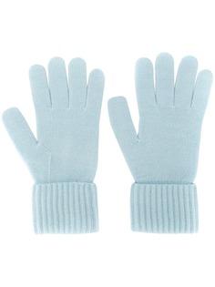 N.Peal кашемировые перчатки в рубчик