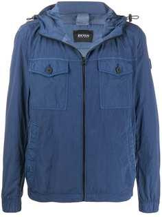 BOSS легкая куртка с капюшоном