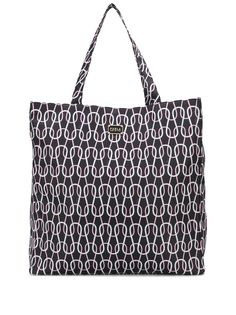 Furla Candy geometric print tote bag