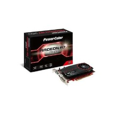 Видеокарта POWERCOLOR AMD Radeon R7 250 , AXR7 250 2GBD3-DH, 2ГБ, DDR3, Ret