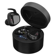 Наушники с микрофоном HIPER TWS Skat, Bluetooth, вкладыши, черный [htw-hdx3]