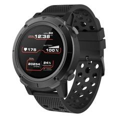 """Смарт-часы CANYON Wasabi, 48мм, 1.3"""", черный / черный [cns-sw82bb]"""