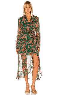 Платье с запахом justine - Bardot