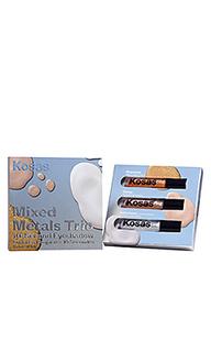 Подарочный набор теней для век mixed metals - Kosas