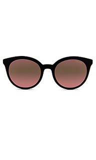Солнцезащитные очки heritage round - Prada