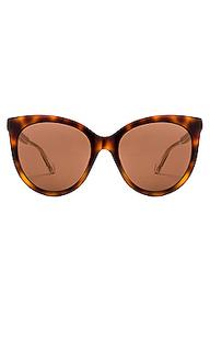 Солнцезащитные очки round cat eye - Gucci