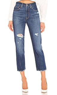 Зауженные джинсы 501 crop - LEVIS