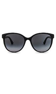 Солнцезащитные очки pop cat eye - Gucci