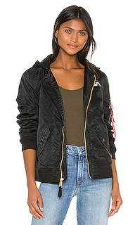 Куртка с капюшоном l-2b nasa - ALPHA INDUSTRIES