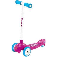 Трехколесный самокат Lil Pop, розовый, Razor