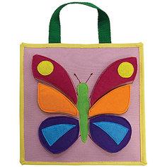 Развивающая аппликация Бабочка Santa Lucia