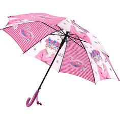 Зонт Kite Kids 2001 R, фиолетово-серый