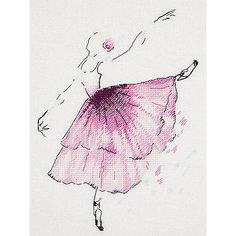 """Набор для вышивания Panna """"Бэкстич"""" Балерина. Анемон, 20х23 см"""