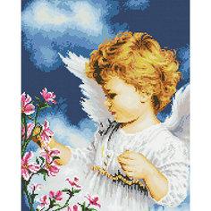 Мозаичная картина Белоснежка Малютка Ангел, 40х50 см