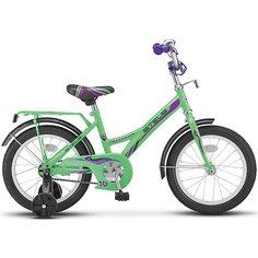 Детский велосипед Stels Talisman 18 дюймов (Z010) 12 дюймов, зеленый