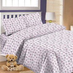 Детское постельное белье 3 предмета Letto, BG-66