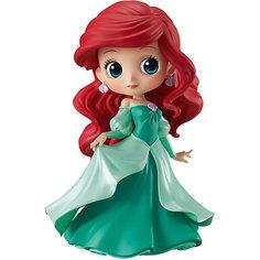 Фигурка Bandai Q Posket Disney Characters Ариэль в зелёном платье, BDQ5