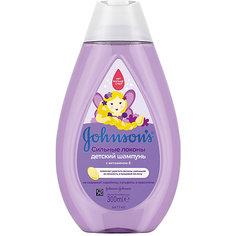 Шампунь для волос Johnsons baby сильные локоны 300 мл