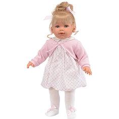 Кукла Munecas Antonio Juan Зои в розовом, 55 см