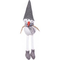 Фигурка декоративная House of seasons Снеговик в черной шапочке